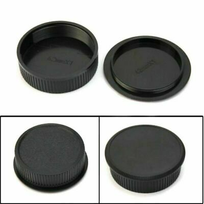 2x 42mm Plastic Front Rear Cap Cover For M42 Digital Camera Body and Lens S B8F1