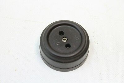 Old Outlet Bakelite round Surface-Mounted without Schuko Vintage Art Deco Loft