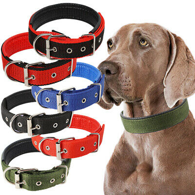 Adjustable Dog Collar Neck Strap for Large Medium Small Pets Dog Collar 5 sizes