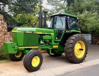 John Deere 4640 & 4840 Tractor Service Repair & Workshop Manual.
