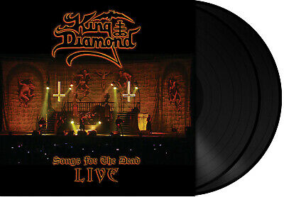 King Diamond - - Songs For The Dead Live DLP #
