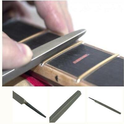 Professional Guitar Fret Crowning File Dressing File With 3 Size Edgeepair Tool