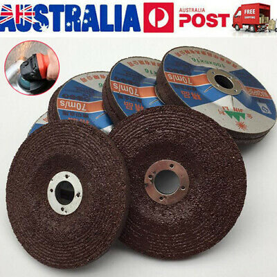 """4"""" 100mmx6mm Grinding Discs Wheels Flap For Metal Steel Angle Grinder Cutting"""