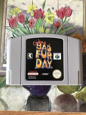 Conker's Bad Fur Day (Nintendo 64) CART ONLY!