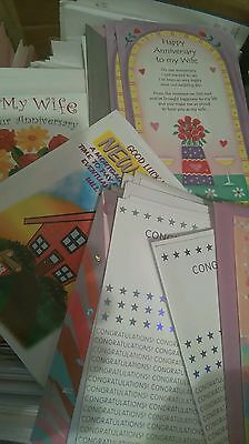 300 greetings cards Joblot wholesale
