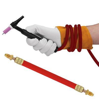 Power Cable TIG Torch Fits 9 and 17 series torches 3/8 in X 24 RH Flexible Hot