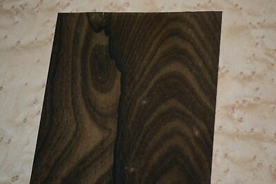 Ziricote Raw Wood Veneer Sheets 5 x 41 inches 1/42nd                    F8630-28