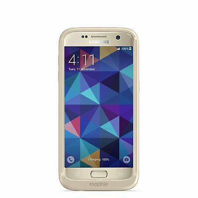 MOPHIE Juice Pack Wireless Charging Battery Pack Case SAMSUNG GALAXY S7 GOLD