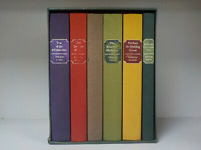 Thomas Hardy FOLIO SOCIETY 6 Books Collection! ID:771