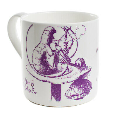 Alice In Wonderland Mug CATERPILLAR Cup Coffee Tea Vintage Bone China Gift AM01