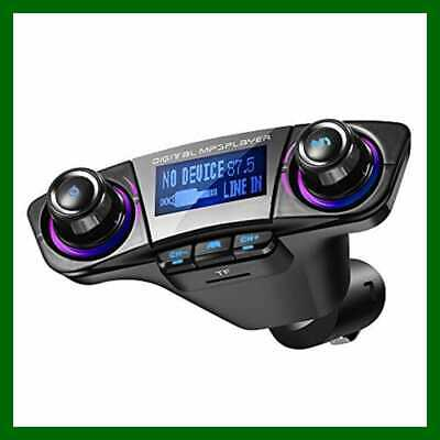 Bluetooth FM Transmitter For Car Wireless Radio Adapter Kit Dual USB Charger W H
