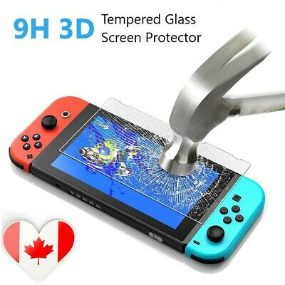 Premium 9H 3D Tempered Glass Screen Protector For Nintendo Switch