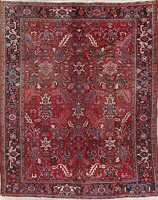 Area Rugs Pads 4 X 12 Runner Hand Knotted Rust Red Antiqued