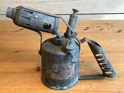 Vintage Paraffin Blow Torch / Lamp ~GOVERNOR~ Collectable Blow Torch