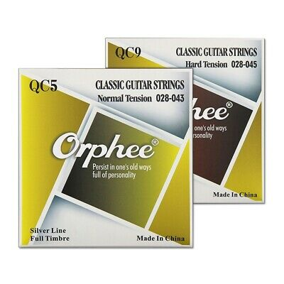 Orphee Corde Per Chitarra Acustica Serie Qc Medium Light Extra Light String J3K9