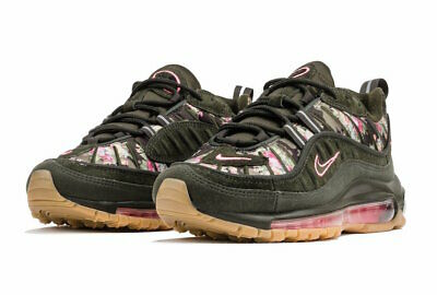 uk store pre order lowest discount NIKE AIR MAX 98 Sequoia Floral Camo Pink Women's Shoes ...