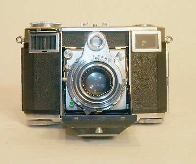 Zeiss Ikon Contessa-35 Rangefinder, Tessar 45mm f2.8 lens. Just CLA'd.