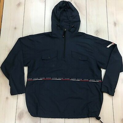 b2c3762b Tommy Hilfiger Mens XXL Anorak Hooded Lightweight Jacket Nylon
