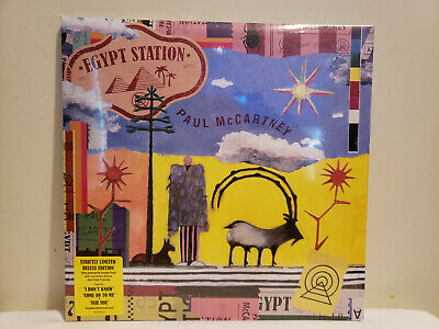 Paul McCartney EGYPT STATION Strictly Limited Deluxe Edition 180g Concertina MP3