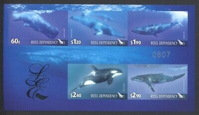 Ross Gebiet Dependency - 2010 Wale Whales Limited Edition Block 5 ** Mint/Nh