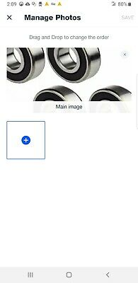 Bearings Replacement For Roller Heads Set of 4