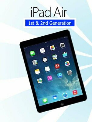 Apple iPad Air 1st 2nd Generation 16GB 32GB 64GB WiFi 4G Cellular Gray Silver
