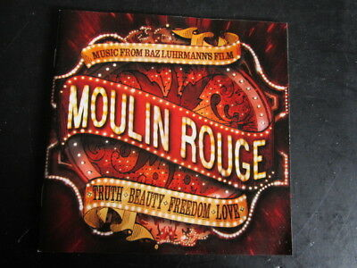 Various Artists - Moulin Rouge (Music from Film) 2001 Interscope CD Album
