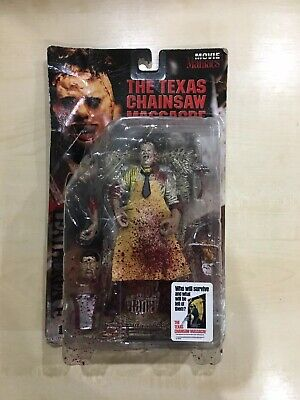 McFarlane Toys Movie Maniacs -Texas Chainsaw Massacre - Leatherface Figure Used