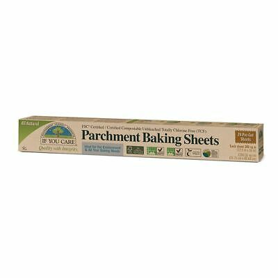 If You Care FSC Certified Parchment Baking Sheets - Compostable/Unbleached Paper