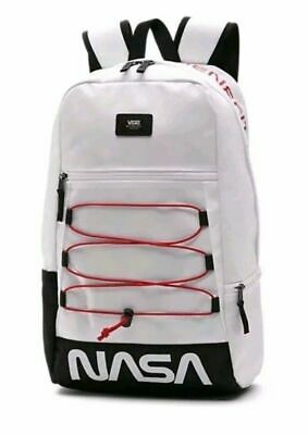 42a790f3df1 VANS X NASA Space Voyager MN Snag Plus Backpack White Brand New