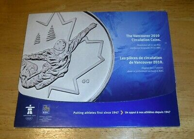 Vancouver 2010 Olympic Circulation Coin Set