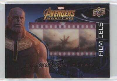 2018 Upper Deck Avengers Infinity War Film Cels #FC22 Battle On Titan Card o1h