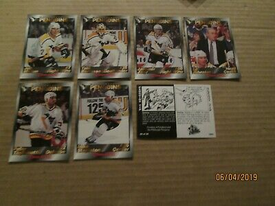 1993-94 Foodland NHL Pittsburgh Penguins Set COMPLETE WITH LEMIEUX