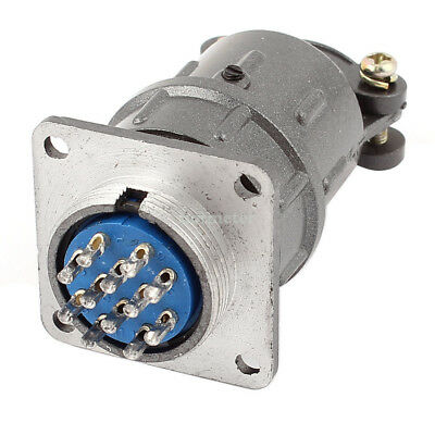 H●x24K 12P Unshielded Type 12 Terminals Electric Circular Aviation Connector.