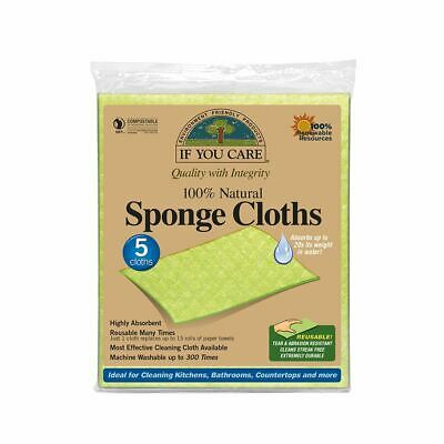 If You Care Natural Sponge Cloths - Eco-Friendly Compostable Wipes