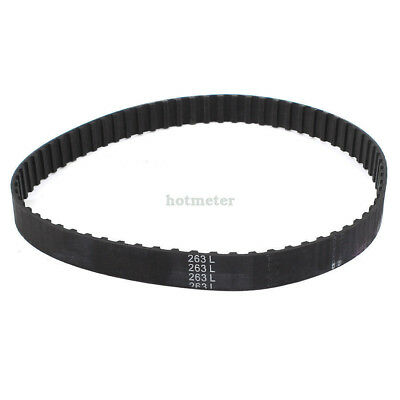"""H● 263L 70T 20mm Width Rubber Cogged Industrial Timing Belt 26.3""""."""