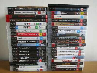 PlayStation 3 Games PS3 Game Assorted Game Ps3 Games *Choose Your Own* Free Post