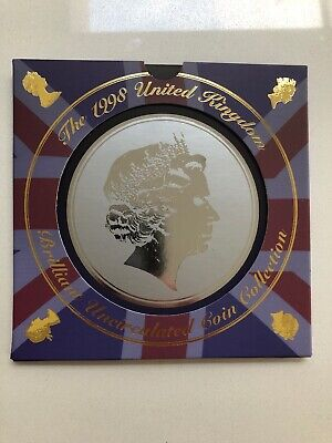 Uk 1998 Royal Mint Brilliant Uncirculated 9 Coin Collection