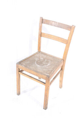 Beautiful Age Wood Wood Chair Chair Wood Chair Chair Vintage Design