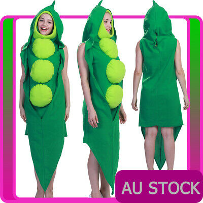 11440bf4c4d0b Adult Peas Be With You Green Pea In a Pod Costume Vegetable Food Novelty  Mascot