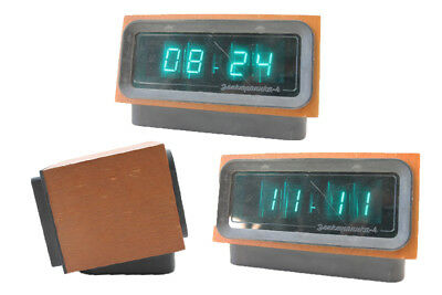 Old Digital Watch Green Digital Klappzahlen Alarm Clock Old Vintage