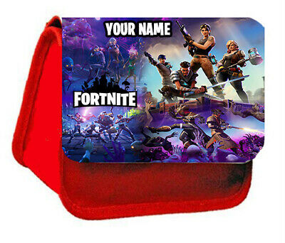 Unofficial Fortnite Pencil Case/Make Up Bag/  Personalise Free - Ideal Gift