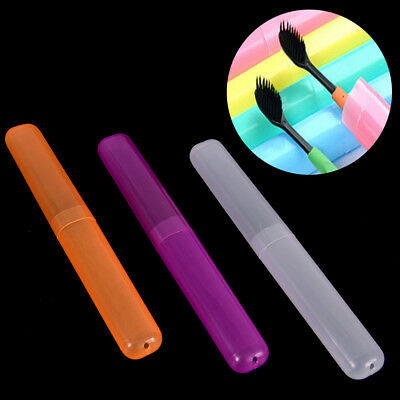 1x Toothbrush Protect Holder Cover Travel Hiking Camping Case Box Tube GN