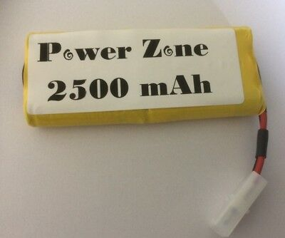 7.2v 2500mAh Ni-MH RC (3x3)Vertically Rechargable AA Power Pack Battery free P&P