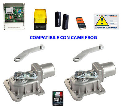 Kit Came Frog Automazione Automatismo Cancello Battente Motore Interrato