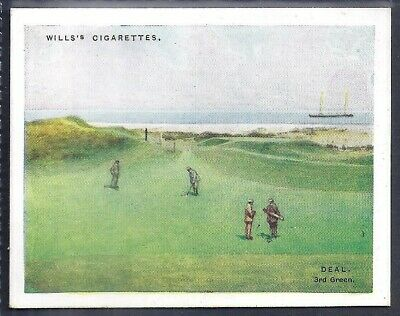 Wills-Golfing Golf (L25)-#05- Deal Royal Cinque Ports Club
