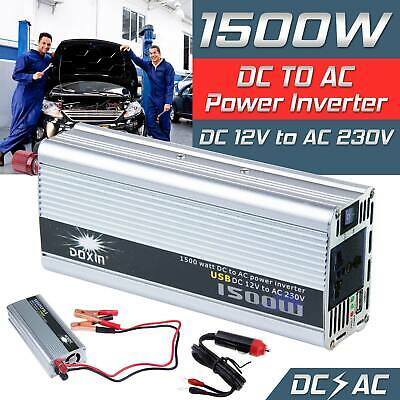 Doxin Power Inverter 1500w Without UPS Modified Sine DC 24V To AC 220V For Car