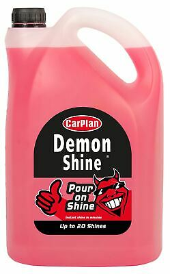CarPlan Demon Pour On Shine Car Polish REFILL PACK 5 Litre