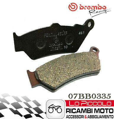 Bmw 1200 R 1200 Gs Adventure 2014 2015 2016 Brembo Pastiglie Genuine Posteriori