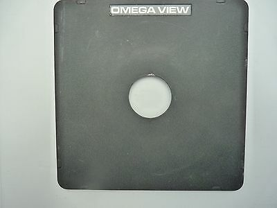 Omega lens board #0, also fits Toyo View Camera